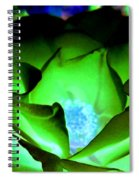 Green Glow Spiral Notebook