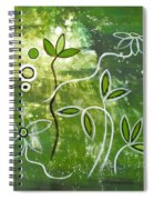 Green Growth Spiral Notebook