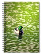 Green Head Spiral Notebook