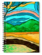 Green Hill Country Spiral Notebook