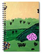 Green Hills Spiral Notebook