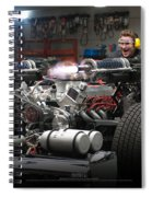 Green Hornet Spiral Notebook