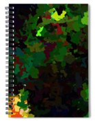 Green Horse Eating A Pear Spiral Notebook