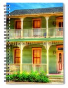 Green House Spiral Notebook