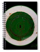Green Image Spiral Notebook