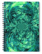Green Irrevelance Spiral Notebook