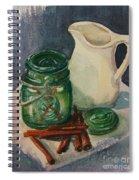 Green Jar Spiral Notebook