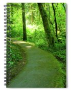 Green Journey Spiral Notebook