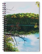 Green Lakes Spiral Notebook