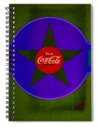 Green Landscape Spiral Notebook