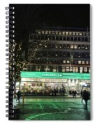 Green Light Spiral Notebook