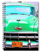 Green Machine Spiral Notebook
