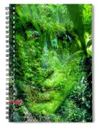 Green Man Spiral Notebook