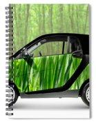Green Mini Car Spiral Notebook