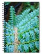 Green Nature Forest Fern Art Print Baslee Troutman  Spiral Notebook