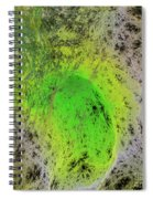 Green On Center Stage Spiral Notebook