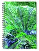 Green Palm Spiral Notebook