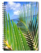 Green Palm Leaves Spiral Notebook