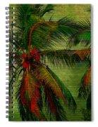 Green Palms Spiral Notebook