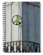 Green Peace Spiral Notebook
