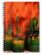 Green Pots Spiral Notebook