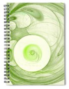 Green Power Spiral Notebook