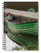 Green Reflection Spiral Notebook