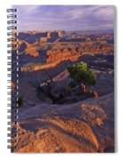 Green River Canyon Sunset Spiral Notebook