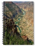 Green River Carving Canyon Spiral Notebook