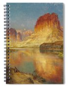 Green River Of Wyoming Spiral Notebook