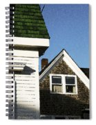Green Roof Stonington Deer Isle Maine Coast Spiral Notebook