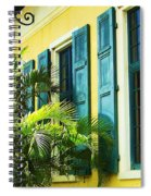 Green Shutters Spiral Notebook