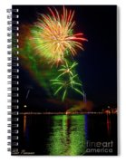 Green Sky Spiral Notebook