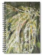 Green Reeds Spiral Notebook