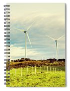Green Tasmania Spiral Notebook