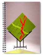 Green Touch Spiral Notebook