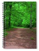 Green Trail Spiral Notebook