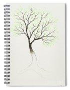 Green Tree Spiral Notebook