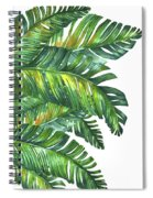 Green Tropic  Spiral Notebook