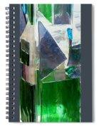 Green Vase Spiral Notebook