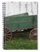 Green Wagon Spiral Notebook