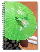 Green Western Day Spiral Notebook