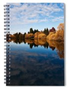 Greenlake Fall Reflections Spiral Notebook