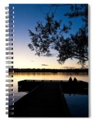 Greenlake Sunset Spiral Notebook