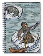 Greenland Eskimos, 1555 Spiral Notebook