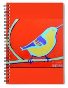 Greenough Nuthatch Spiral Notebook