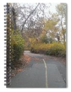 Greenway Trail In The Fall Spiral Notebook