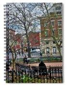 Greenwich Village New York City Spiral Notebook