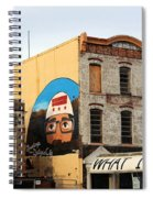 Greetings From Dystopia City -- Washington D C Spiral Notebook