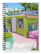 Greetings From Matlacha Island  Florida Spiral Notebook